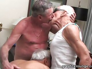 grand-dad, best, threesome, ever, facial, mature