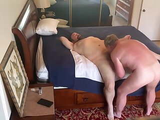 gets, daddy, fucked, pt, big, cock