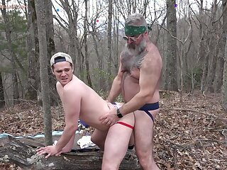 pup, bear, bareback, big, cock, brunette