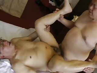 old, japanese, man, asian, big, cock
