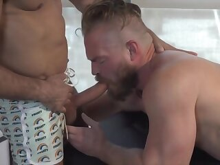 ending, happy, brunette, cumshot, deepthroat, facial