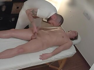 straight, young, boy, massage, bareback, blonde