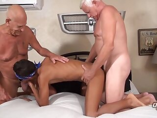 horny, two, grandpas, bear, big, cock